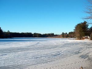 Governors Lake in Winter